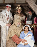 Geburt Christi wisemen Lizenzfreie Stockfotografie