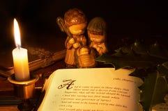 Geburt Christigeschichte Stockfotos