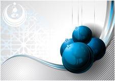 Geburt Christipostkarte Lizenzfreies Stockfoto