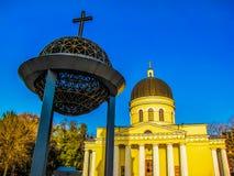 Geburt Christis-Kathedrale, Chisinau, Moldau stockfotos
