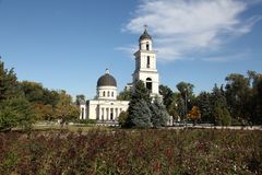 Geburt Christis-Kathedrale in Kishinev Chișinău Moldau Stockbild
