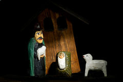 Geburt Christischäferhund Stockbilder