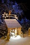 Geburt Christiszene stockfoto