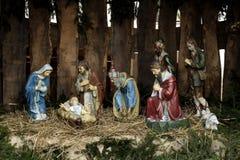 Geburt Christiszene Lizenzfreie Stockbilder