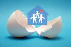 Geburt der neuen Familie. Stockbilder
