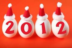 Geburt des neuen 2012 Jahres Lizenzfreie Stockbilder