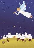 Geburt von Jesus in Bethlehem Lizenzfreie Stockfotografie