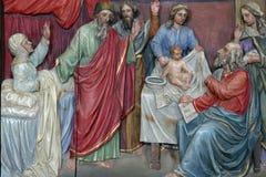 Geburt von Johannes der Täufer stockfotografie