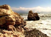 Geburtsort der Aphrodite, Zypern lizenzfreies stockfoto