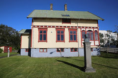 Geburtsort von Gunnar Thoroddsen stockfotos