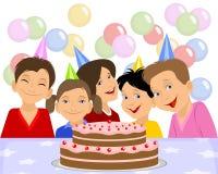 Geburtstag der Kinder vektor abbildung