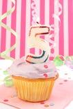 Geburtstag des jungen Mädchens Stockfotos