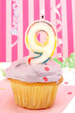 Geburtstag des jungen Mädchens Lizenzfreie Stockbilder