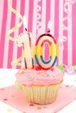 Geburtstag des jungen Mädchens Stockbilder
