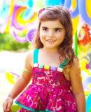 Geburtstag des kleinen Mädchens Stockbilder