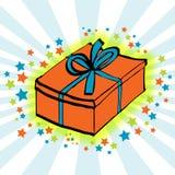 Geburtstag-Geschenk Stockbilder