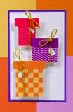 Geburtstag-Geschenke lizenzfreie abbildung