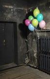 Geburtstag in Halloween stockfotografie