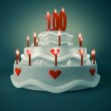 Geburtstag-Jahrestag Lizenzfreie Stockbilder