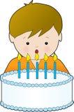 Geburtstag-Junge Lizenzfreie Stockfotos