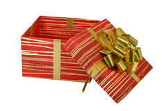 Geburtstag, Kasten, feiern, Feier, Weihnachten, Weihnachtsgeschenk, Geschenk, das giftbox, lokalisiert Stockfoto
