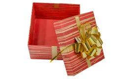Geburtstag, Kasten, feiern, Feier, Weihnachten, Weihnachtsgeschenk, Geschenk, das giftbox, lokalisiert Stockbilder