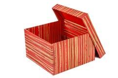 Geburtstag, Kasten, feiern, Feier, Weihnachten, Weihnachtsgeschenk, Geschenk, das giftbox, lokalisiert Lizenzfreies Stockfoto