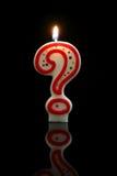 Geburtstag-Kerze Stockfoto