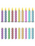 Geburtstag-Kerzen Stockbild