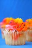 Geburtstag-kleine Kuchen Lizenzfreie Stockfotos