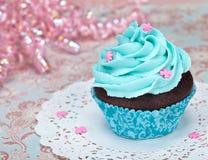 Geburtstag-kleiner Kuchen Stockbilder