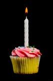 Geburtstag-kleiner Kuchen stockbild