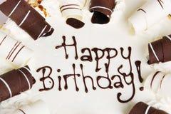 Geburtstag-Kuchen Lizenzfreies Stockfoto