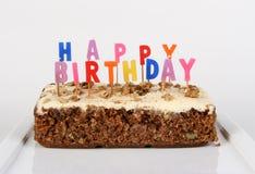 Geburtstag-Kuchen Stockfoto