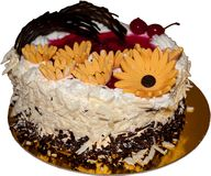 Geburtstag-Kuchen 2 Stockbild