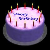 Geburtstag-Kuchen stock abbildung
