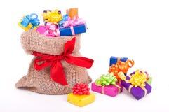 Geburtstag oder Weihnachtsgeschenke Lizenzfreie Stockbilder