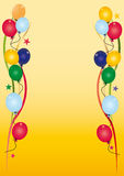 Geburtstageinladung Lizenzfreies Stockbild