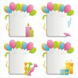 Geburtstagfelder Lizenzfreies Stockbild
