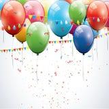 Geburtstaghintergrund vektor abbildung