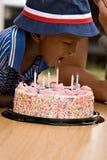 Geburtstagjunge Stockbilder