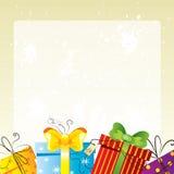 Geburtstagkarte Stockfotografie