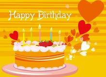 Geburtstagkarte Stockbilder