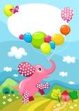 Geburtstagkarte Lizenzfreie Stockfotos