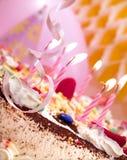 Geburtstagkerzen Lizenzfreies Stockfoto