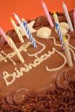 Geburtstagkuchen Stockfotos