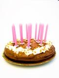Geburtstagkuchen Lizenzfreies Stockbild