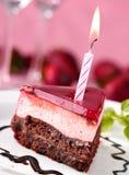 Geburtstagkuchen Stockbild