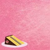 Geburtstagmädchenkarte Stockbild