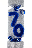 70. Geburtstags-Cracker Stockbilder